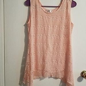Shannon Ford New York lace tank top